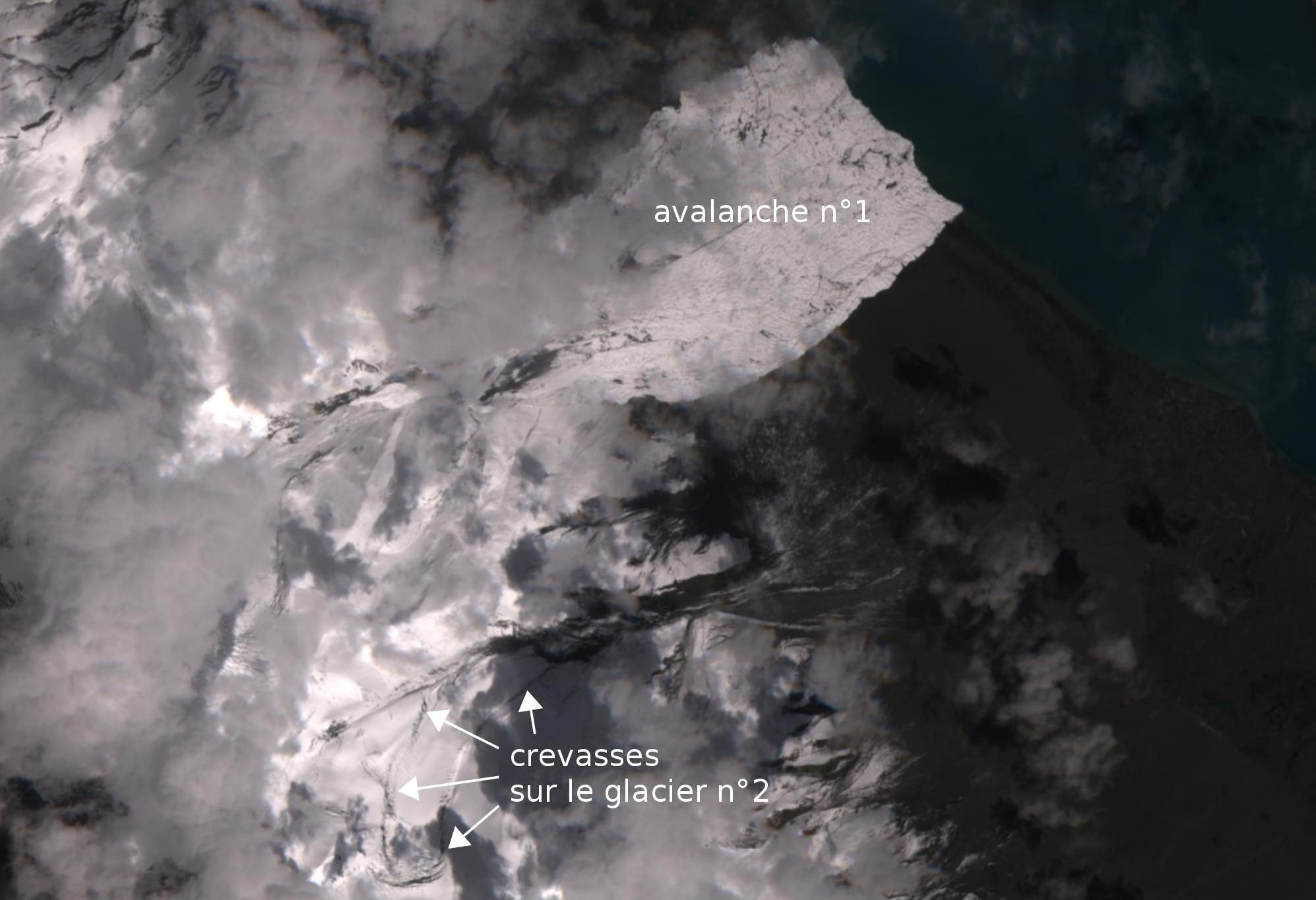 Satellites Européen climat environnement Is_glaciers_2016-09-19_s2_legendes2